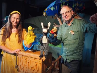 Hans Apfelmus und der Elf vom Quittenbaum - Foto Gabi Siegler